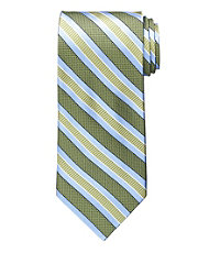 Signature Textured Double Stripe Tie