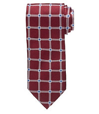 Executive Large Grid on Basketweave Tie