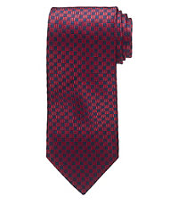 Signature Checkerboard Long Tie