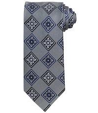 Signature Large Floral Medallion Tie
