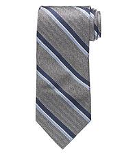 Signature Melange Blue Stripe Tie
