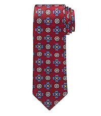 Heritage Collection Medallions on Texture Tie
