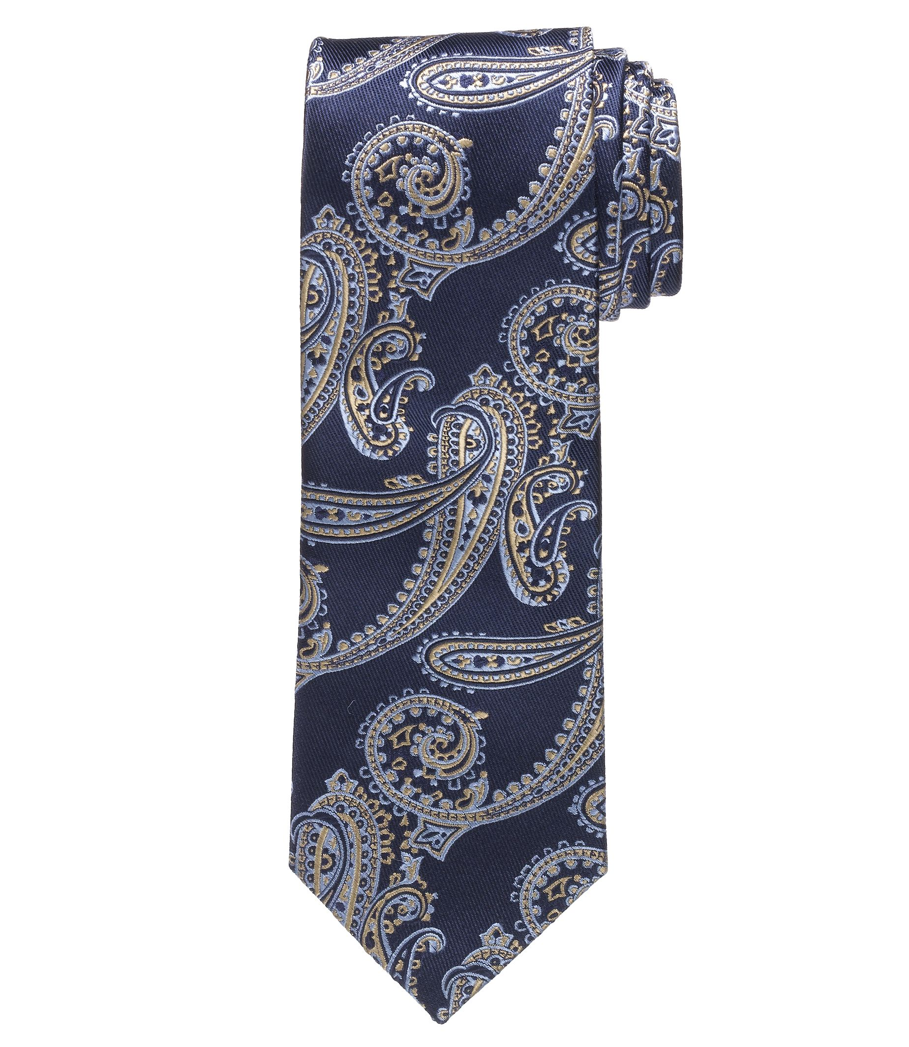 Heritage Collection Narrower Persian Paisley Tie £58.91 AT vintagedancer.com