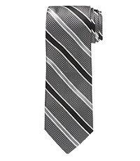 Heritage Herringbone Satin Stripe Tie
