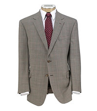 Executive Wool 2-Button Pattern Sportcoat Big/Tall