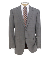 Joseph 2 Button Patterned Wool Sportcoat