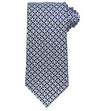 Signature Interlock Ovals Tie