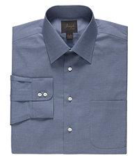 Joseph Spread Collar Tailored Fit Texture Stripe Dress Shirt