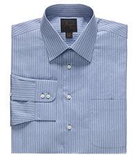 Joseph Spread Collar Tailored Fit Stripe Dress Shirt