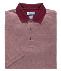 Stays Cool David Leadbetter Microfeeder Stripe Polo