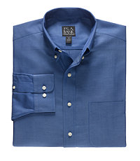 Traveler Tailored Fit Long-Sleeve Buttondown Sportshirt