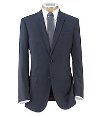 Joseph 2 Button Wool Suit with Plain Front Trousers