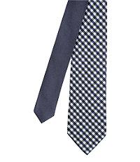 Joseph Narrower Slim Check Tie