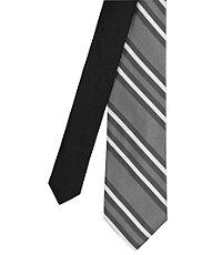 Joseph Slim Double Track Stripe Tie