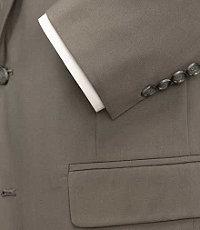 Executive 2-Button Poplin Suit Extended Sizes