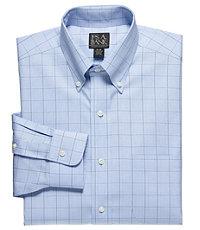 Factory Store Non-Iron Big and Tall Buttondown Collar Dress Shirt