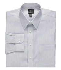 Traveler Tailored Fit Point Collar Dress Shirt