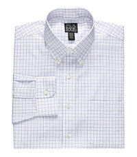 Traveler Buttondown Collar Dress Shirt B/T Sizes