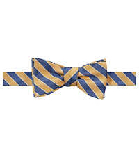 Executive Stripe Bow Tie