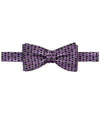 Executive Checkerboard Squares Bow Tie