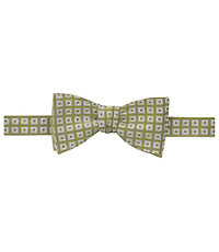 Executive Neat Squares Bow Tie