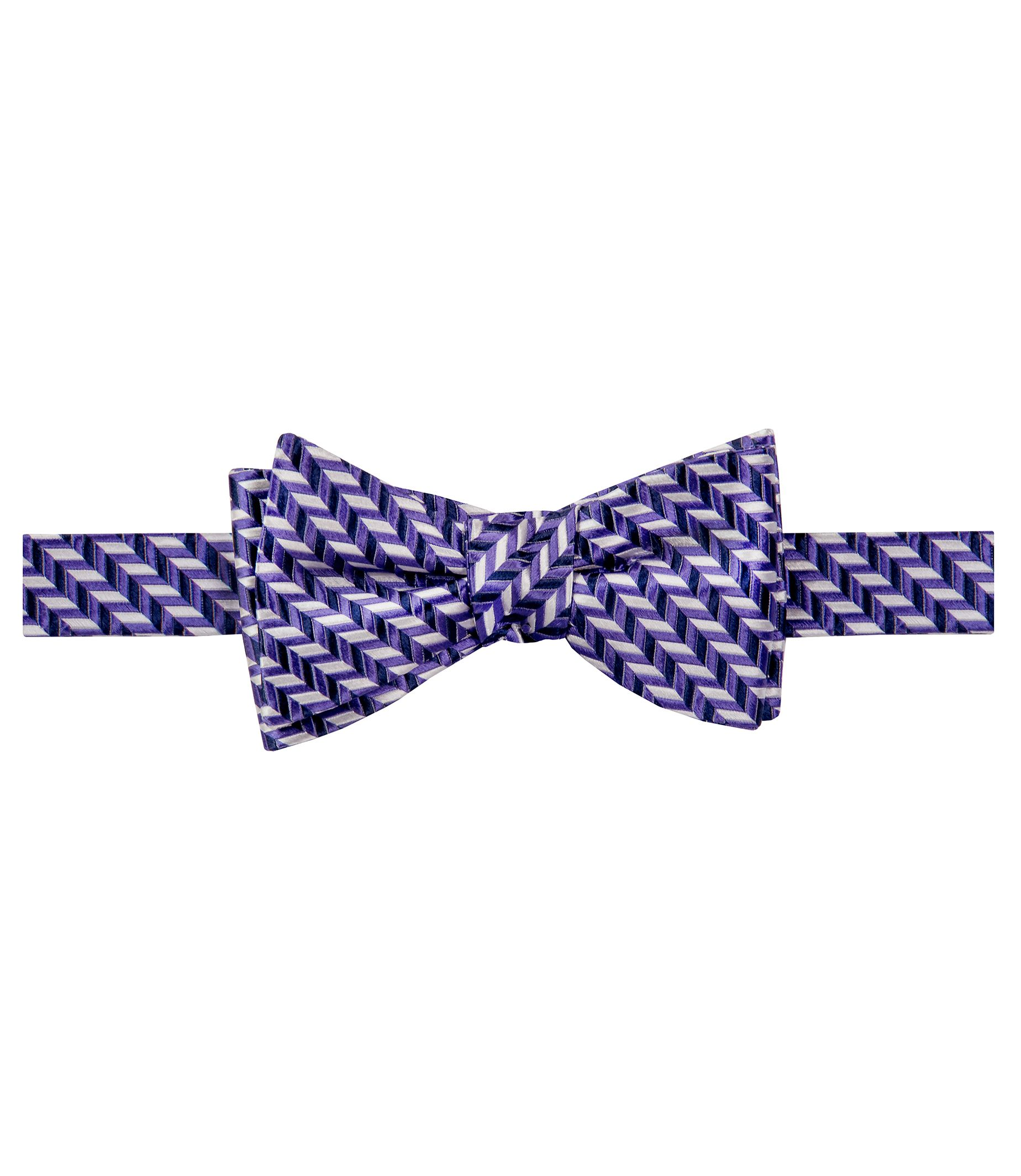 Executive Chevron Micro Bowtie