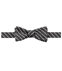Heritage Collection Thin White Stripe Bow Tie