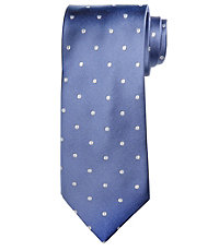 Signature Satin with Large Dots Tie