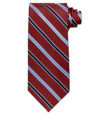Executive Satin Stripes Long Tie