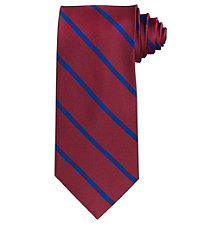 Executive Stripe Long Tie $64.50 AT vintagedancer.com