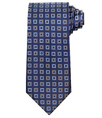 Executive Alternating Neat Squares Tie