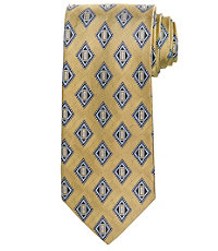 Executive Blue Diamonds Long Tie