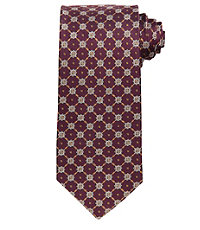 Executive Grid Neat Long Tie