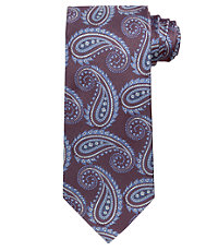 Executive Paisley Extra Long Tie
