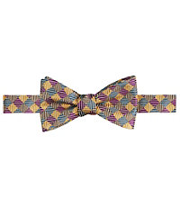 Executive Checkerboard Bow Tie