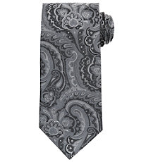 Signature Allover Paisley Long Tie