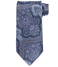 Signature Ornate Print Paisley Tie