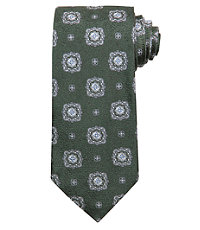Signature Medallion on Tapestry Tie