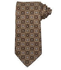 Signature Alternating Squares Tie