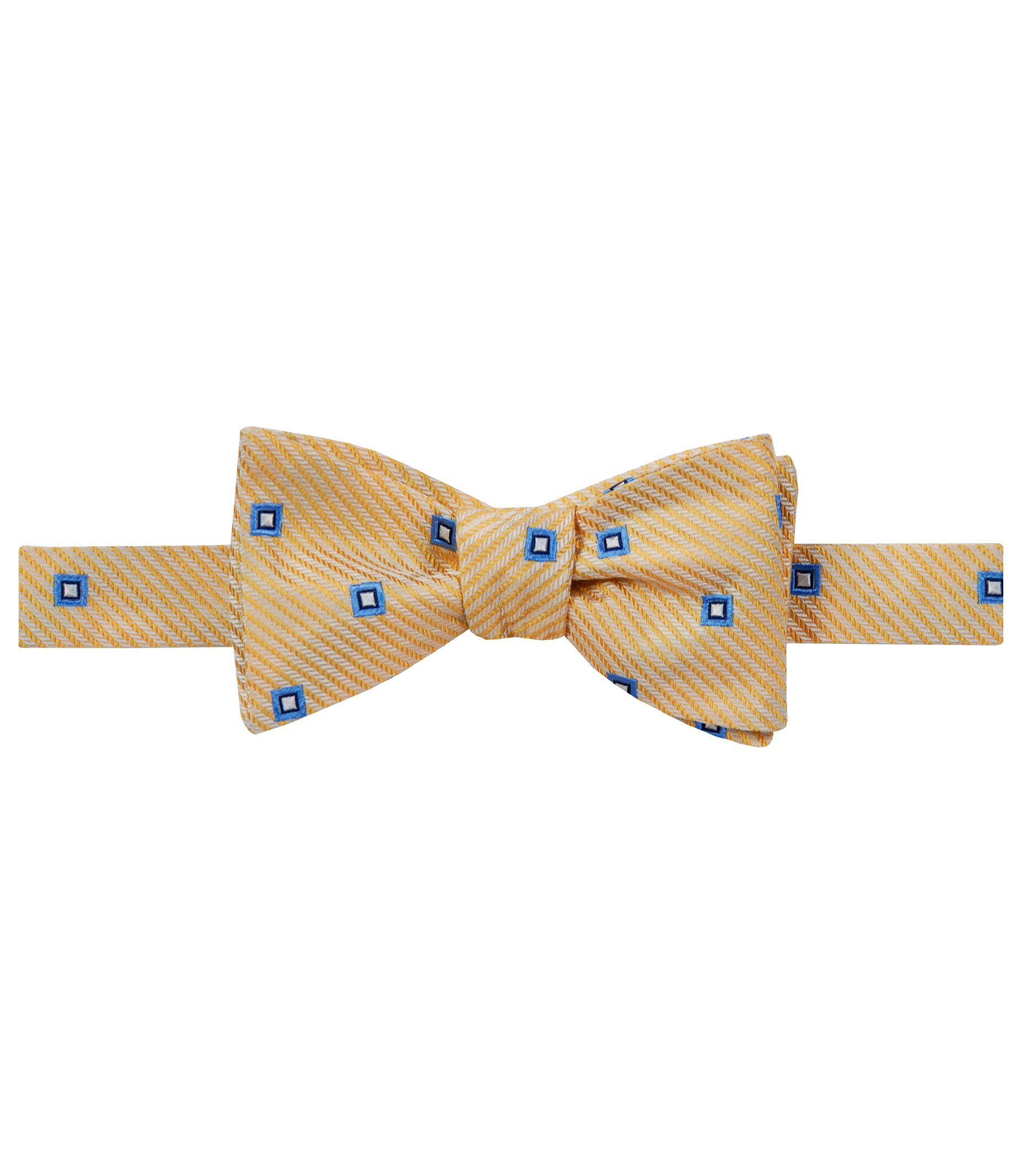 Executive Spaced Squares Bowtie