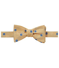 Executive Spaced Squares Bow Tie