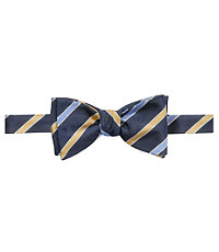 Executive Satin Stripes Bowtie