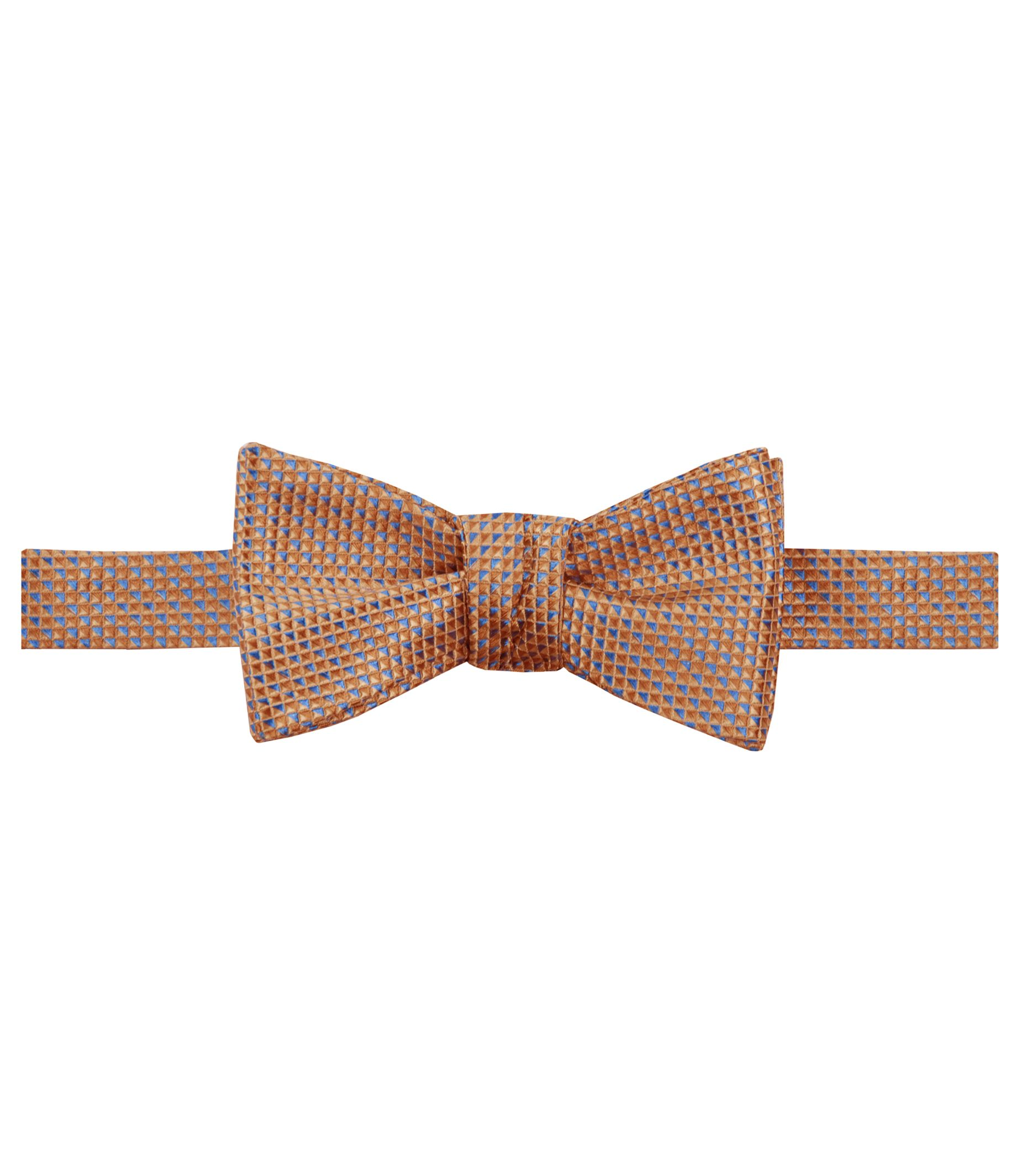 Executive Micro Allover Geometric Bowtie