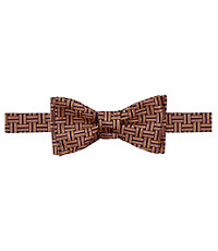 Executive Exploded Basketweave Bow Tie