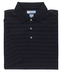 David Leadbetter Stays Cool Pattern Polo