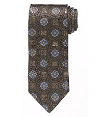 Signature Medallions Long Tie