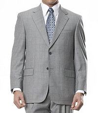 Signature Gold 2-Button Tailored Fit Wool Suit