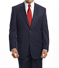 Business Express 2-Button Jacket- Extended Sizes