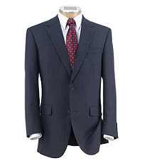 Executive 2-Button Wool Patterned Sportcoat