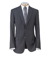 Joseph Slim Fit 2 Button Plain Front Wool Suit - Extended Sizes